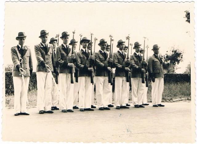 Schützenzug Treue Kameraden anno 1951