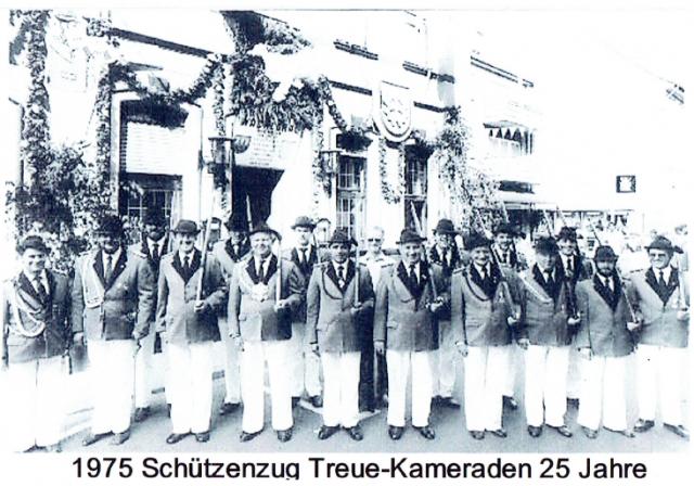 25 Jahre Treue Kameraden (anno 1975)
